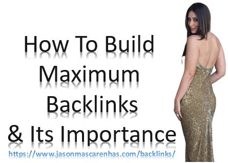 Backlinks - JasonMascarenhas.com