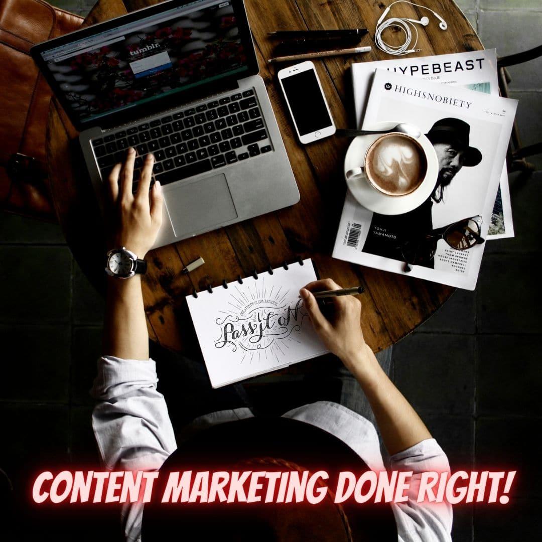 Content Marketing Done Right - JasonMascarenhas.com